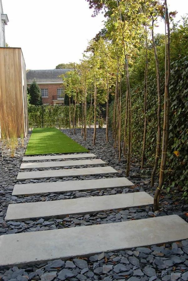 allées-de-jardin-dalles-rectangulaires-et-pelouse-artificielle