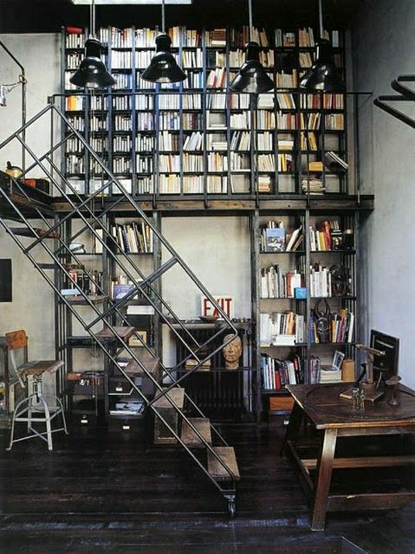 Quels meubles industriels pour la demeure moderne - Deco bureau industriel ...