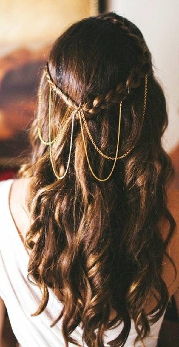 bijoux-de-cheveux-brunette-fille-robe