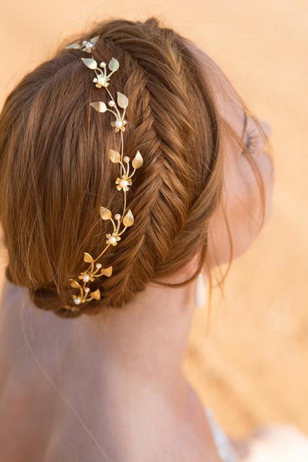 bijoux-de-tete-couronne-de-fleurs-en-or