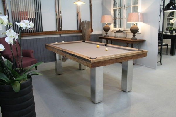 la table billard convertible une solution jolie et. Black Bedroom Furniture Sets. Home Design Ideas