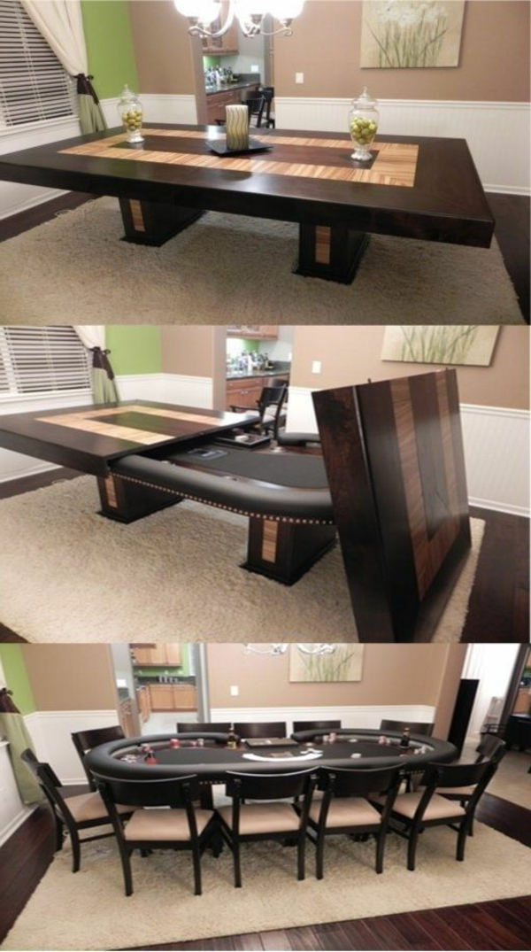 table a manger rabattable. Black Bedroom Furniture Sets. Home Design Ideas