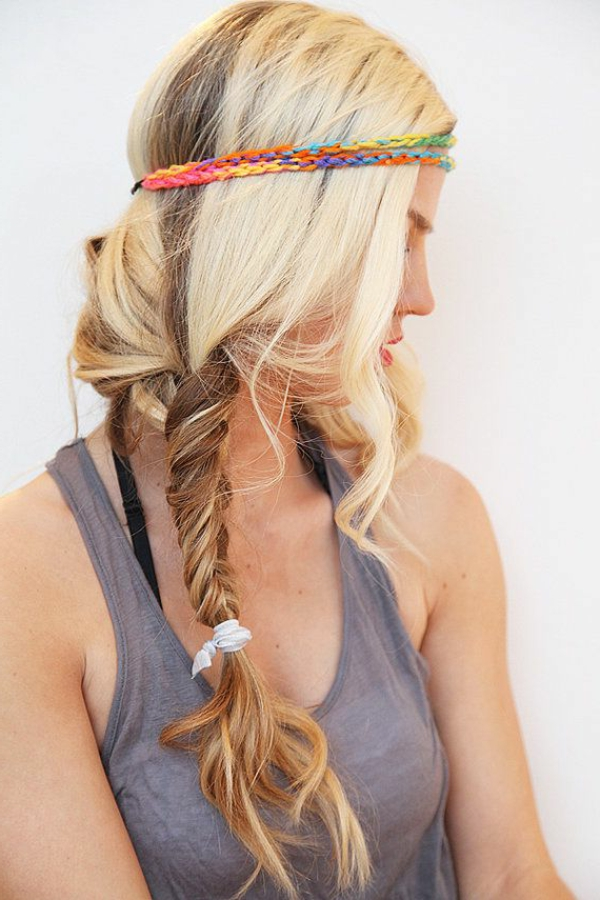 blonde-fille-accessoire-de-cheveux-bandeau-de-cheveux