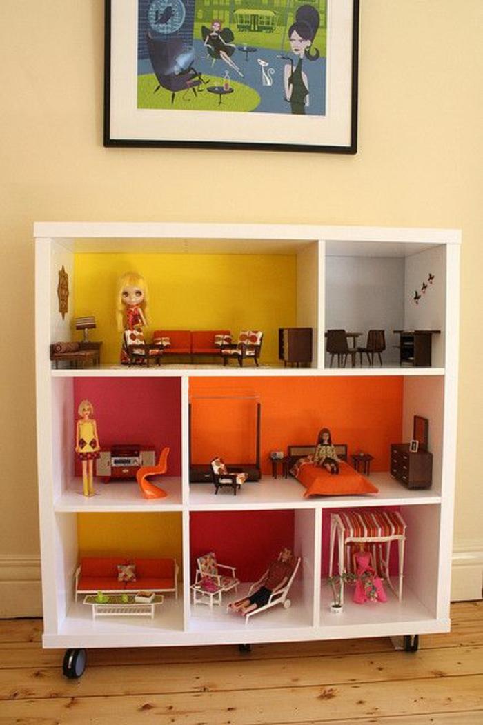 Le cube de rangement, les variantes pour une étagère!