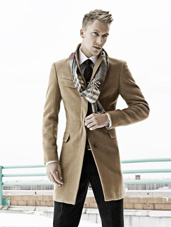 burberry-écharpes-homme-chique-manteau