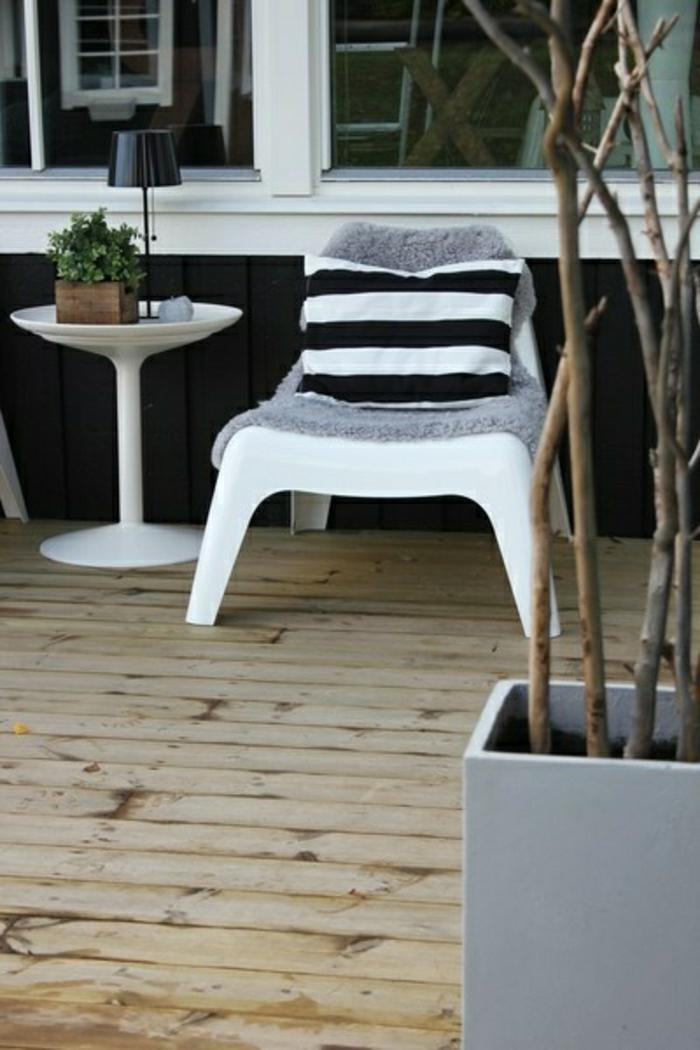 chaise-d-extérieur-en-plastique-blanc-chaise-longue-table-de-jardin-en-plastique