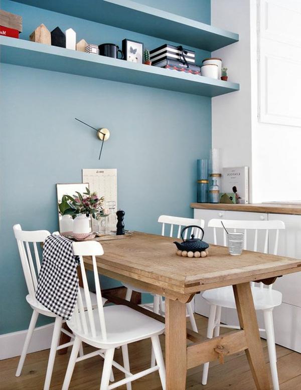 chaise-de-salle-à-manger-aménagement-table-bois-cuisine