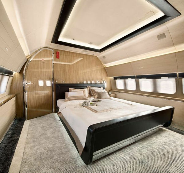 Le jet priv de luxe en 50 photos - Chambre a coucher fly ...