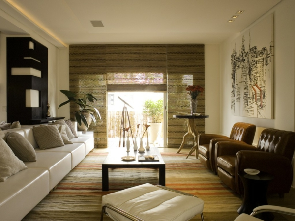 chambre-zen-sofas-blancs-en-cuir