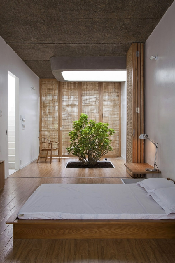 Chambre a coucher ambiance zen for Amenager sa chambre