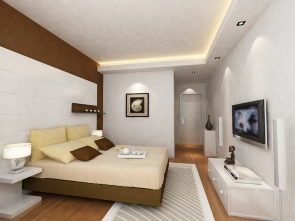 chambre marron et beige moderne pr l vement d 39 chantillons et une bonne id e de. Black Bedroom Furniture Sets. Home Design Ideas