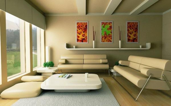chambre-zen-en-couleur-crème