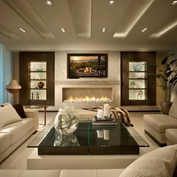 Salon Moderne Taupe – Chaios.com