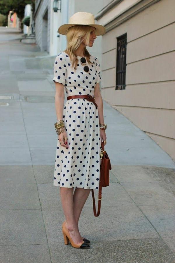 chapeau-de-paille-femme-mode-robe-longue-aux-points