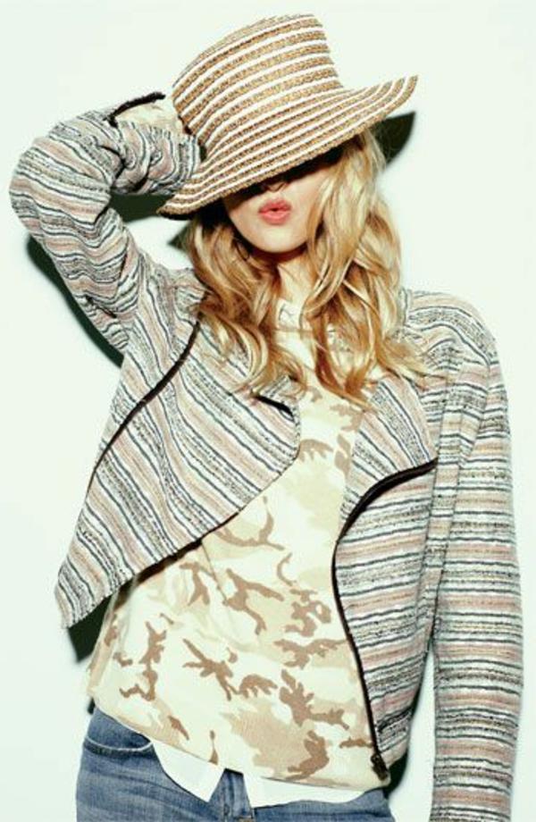 chapeau-femme-de-paille-moderne-veste-court