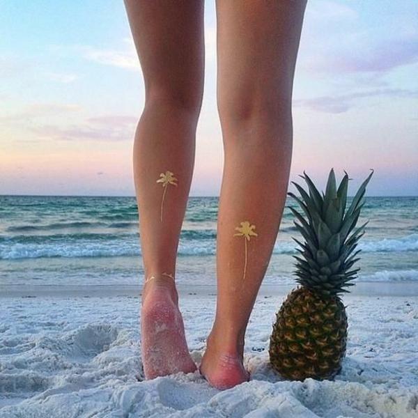 coloration-henné-tatouage-henne-ananas-arbre-palmier