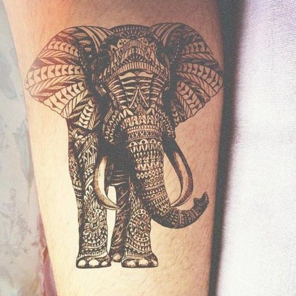 coloration-henné-tatouage-henne-elephante-motifs-tribe