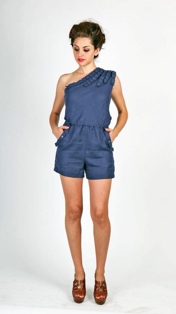 combinaison-en-lin-bleu-femme-mode-street-2015