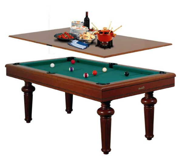 La table billard convertible une solution jolie et for Meuble qui se transforme