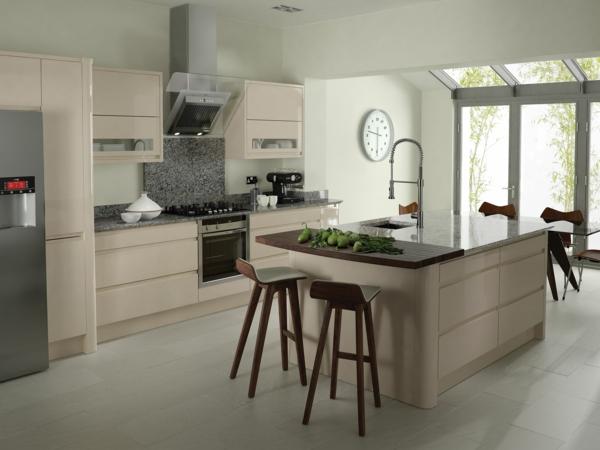 Les cuisines contemporaines fonctionnelles et styl es for Cuisines contemporaines design