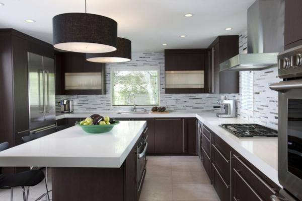 contemporary-kitchen-brune-et-blanc