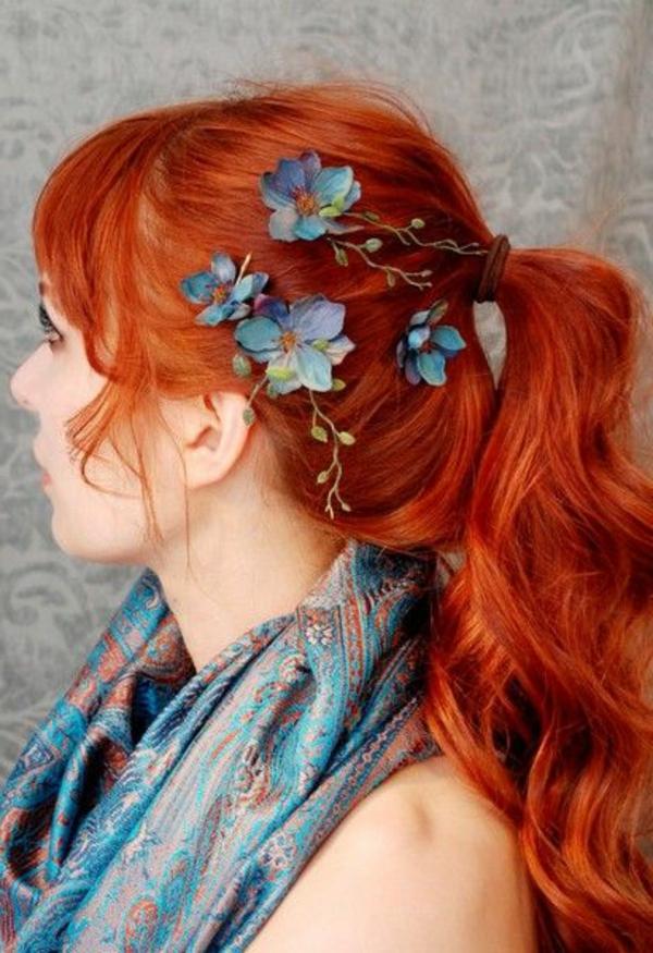 couleur-de-cheveux-tendance-rouge-fille-mode-coloration-fleurs