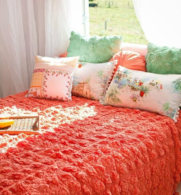couvre-lit-en-boutis-dessus-de-lit-orange