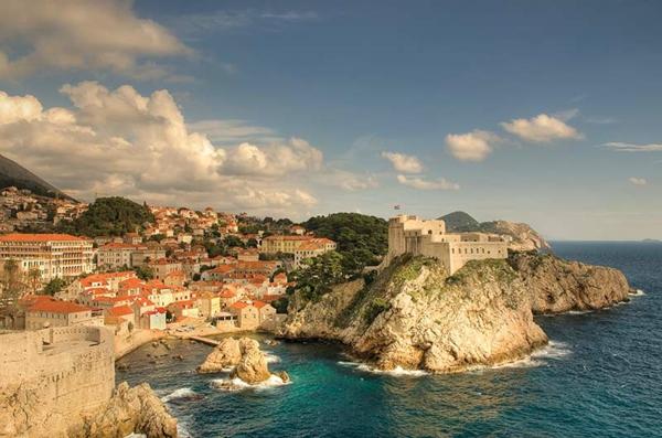 croisières-en-méditerranée-vue-de-Dubrovnik