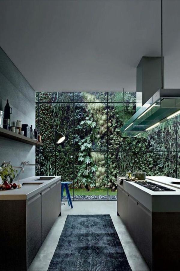 cuisine-moderne-design-charmante-le-court-vert