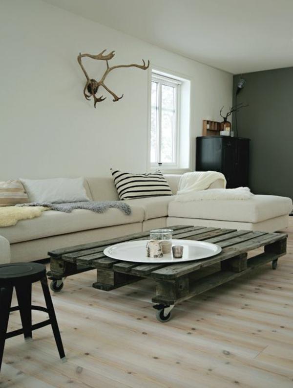 Pin table basse 100 recup on pinterest - Creer une table basse avec des palettes ...