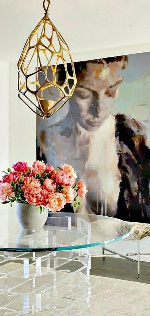 décorer-le-salon-peintures-murales