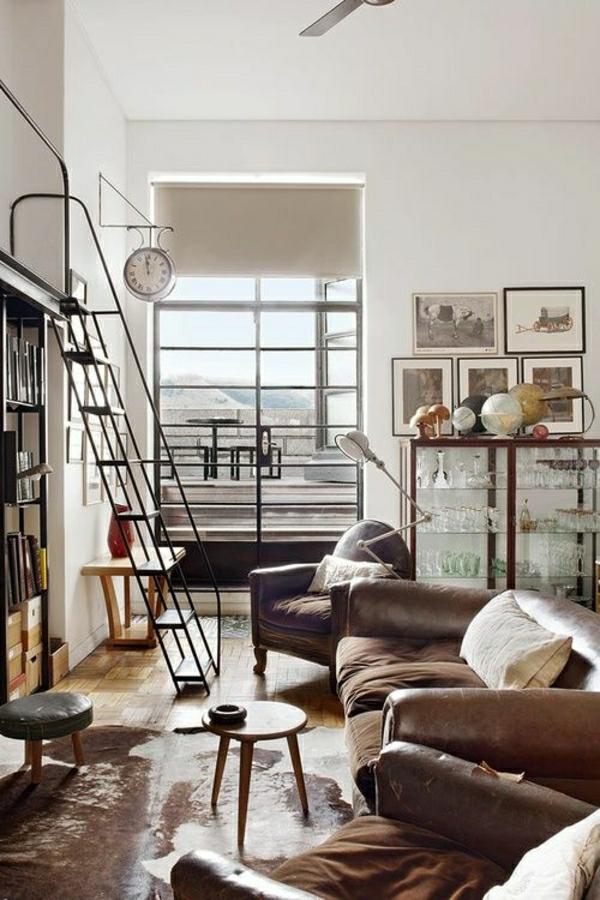 quels meubles industriels pour la demeure moderne. Black Bedroom Furniture Sets. Home Design Ideas