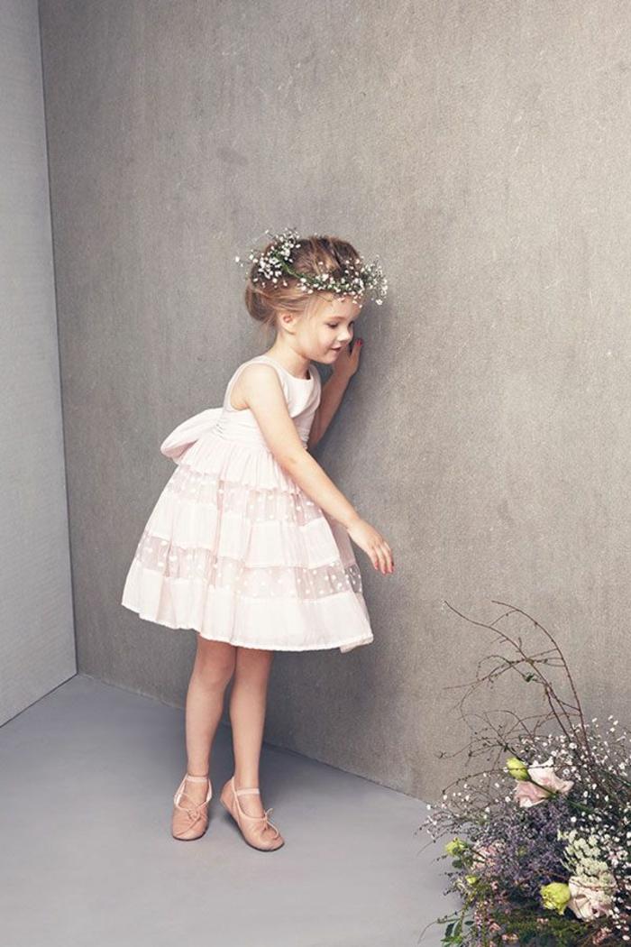 demoiselle-d-honneutr-la-robe-elle-petite-fille-robe-rose