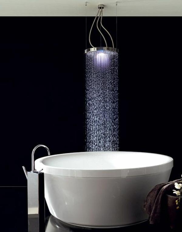 douche-pluie-baignoire-ronde