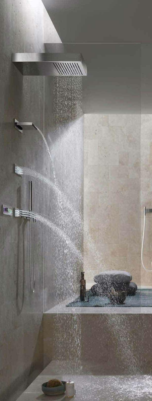 douche-pluie-idées-pour-la-salle-de-bains-moderne