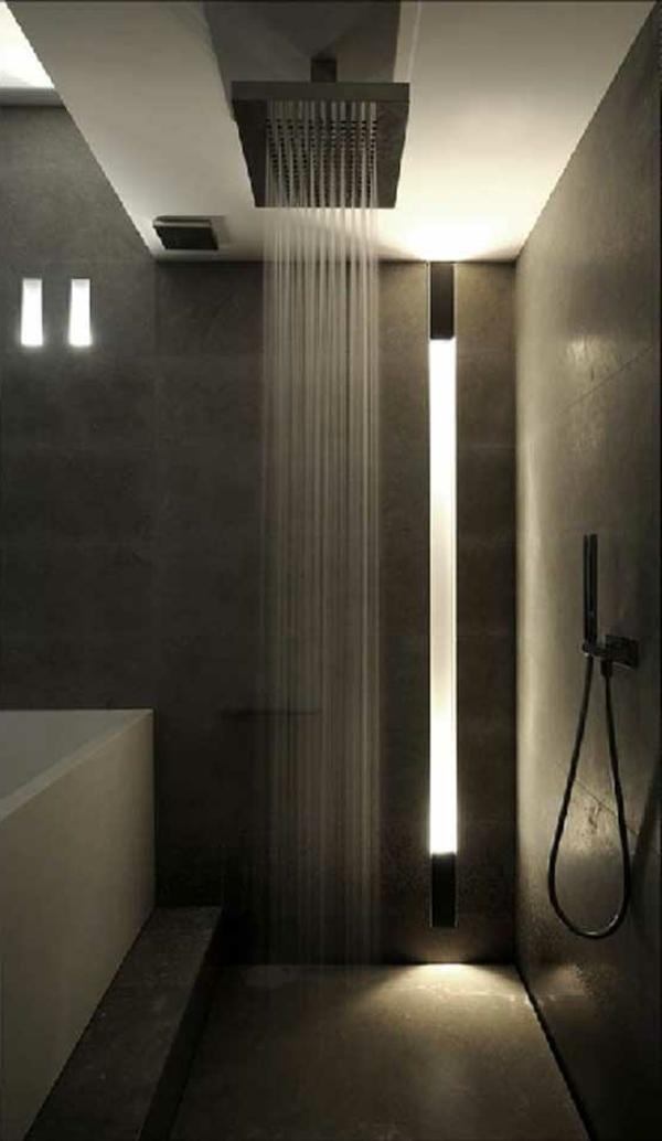 douche-pluie-intérieur-à-lignes-épurées