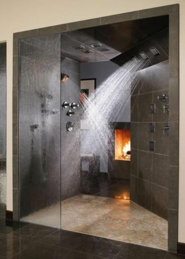 douche-pluie-intérieurs-spa-de-salle-de-bains