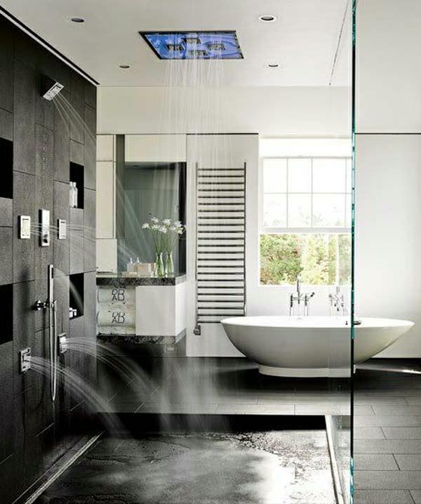 douche-pluie-plusieurs-douches-pluie-et-baignoire-blanche