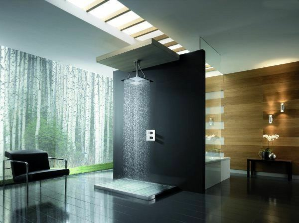 la douche pluie designs fantastiques de douches. Black Bedroom Furniture Sets. Home Design Ideas