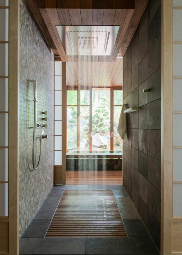 douche-pluie-salle-de-vain-avec-porte-coulissante