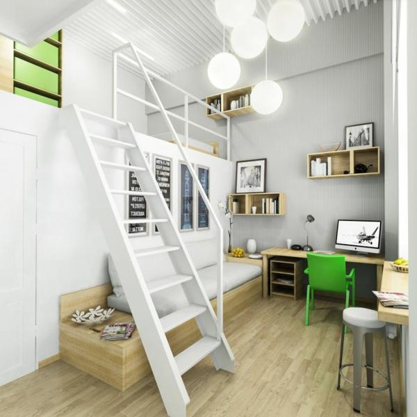 escalier-pour-mezzanine-appartement-compact