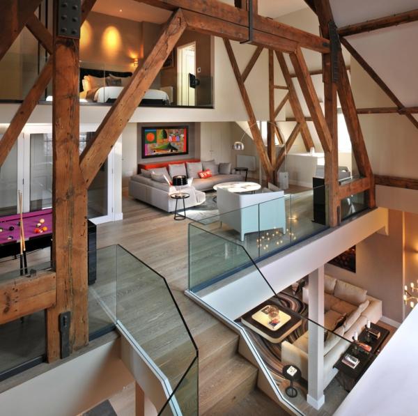 Choisir un escalier pour mezzanine pour son loft for Appartement loft paris