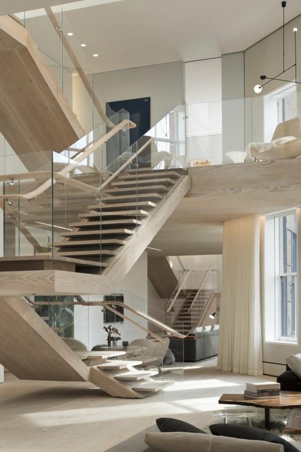escalier-pour-mezzanine-en-bois-intérieur-en-couleurs-neutre