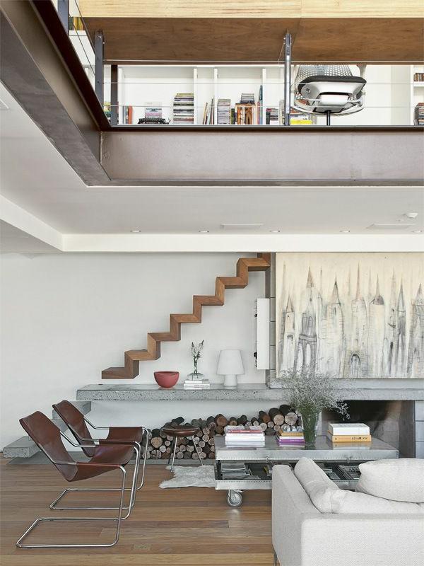 escalier-pour-mezzanine-en-bois-loft-moderne