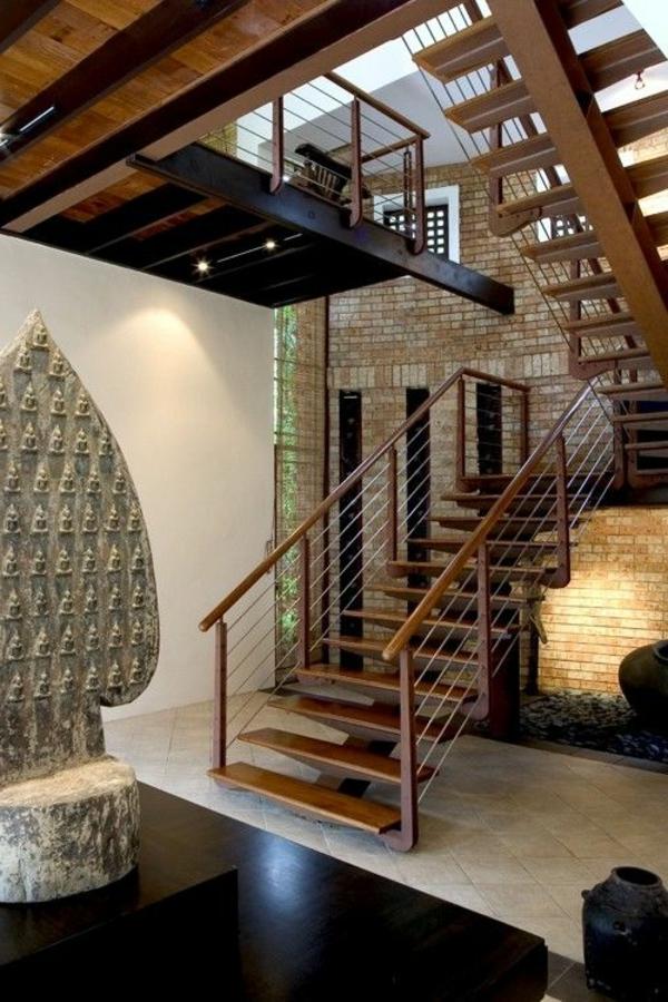 escalier-pour-mezzanine-intérieur-de-maison-contemporaine