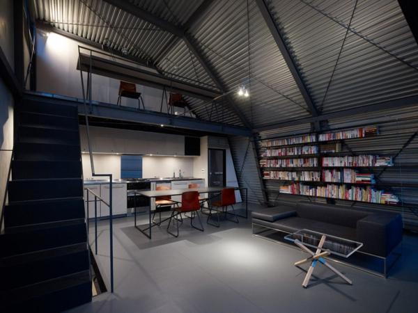 choisir un escalier pour mezzanine pour son loft. Black Bedroom Furniture Sets. Home Design Ideas