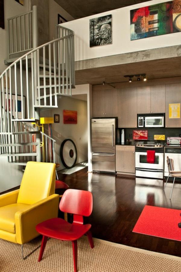 escalier-pour-mezzanine-meubles-en-couleurs-radiantes