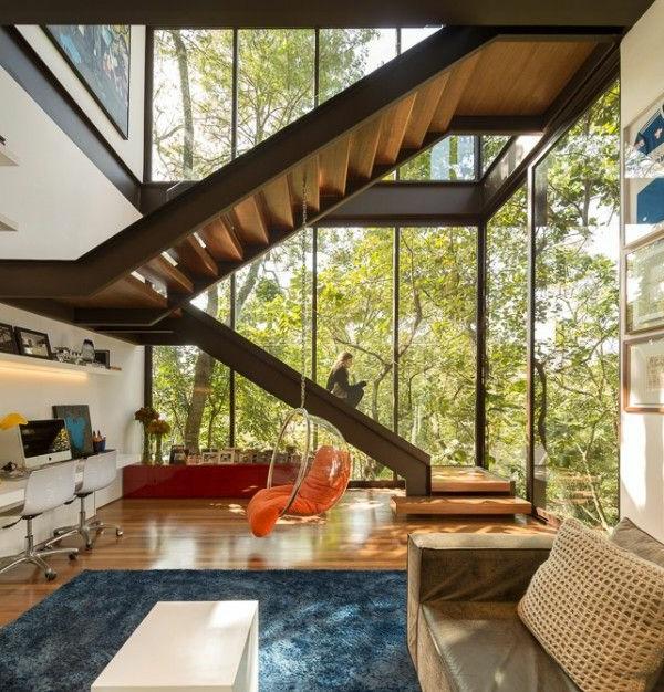 Choisir un escalier pour mezzanine pour son loft for La maison de la mezzanine