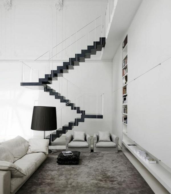 escalier-pour-mezzanine-simplicité-en-noir-et-blanc