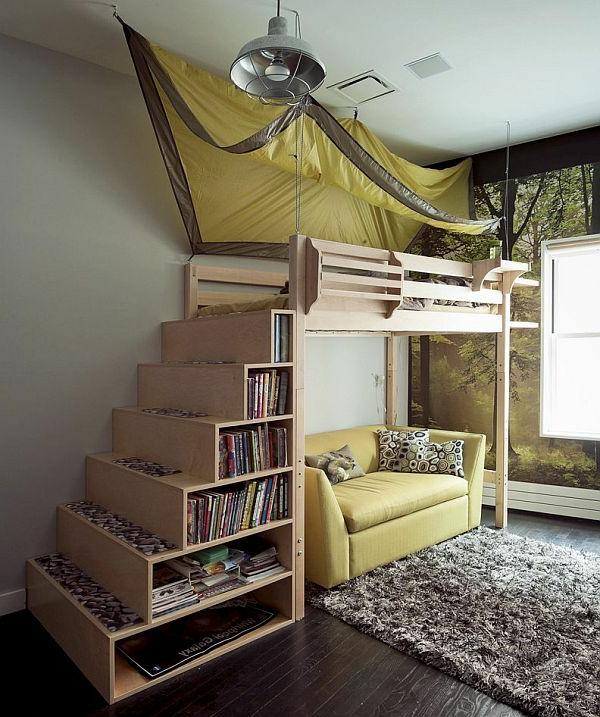 Choisir un escalier pour mezzanine pour son loft - Escalier lit mezzanine ...